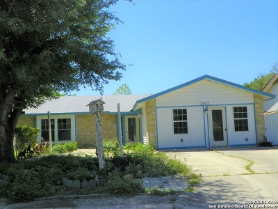 Bexar County, Comal County, Guadalupe County Single Family Home Price Change: 2907 Lakebriar St