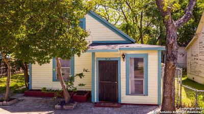 San Antonio TX Single Family Home Back on Market: $123,500