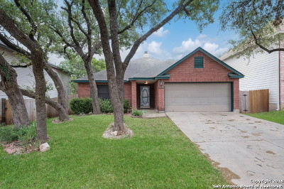Helotes Single Family Home Price Change: 11622 Gulf Sta