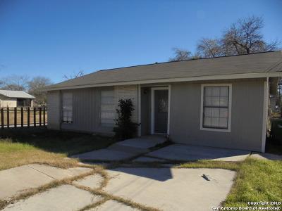 Single Family Home For Sale: 5106 Pettus