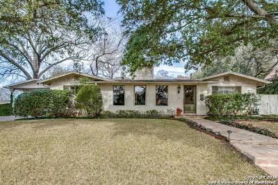 San Antonio Single Family Home For Sale: 201 Ridgemont
