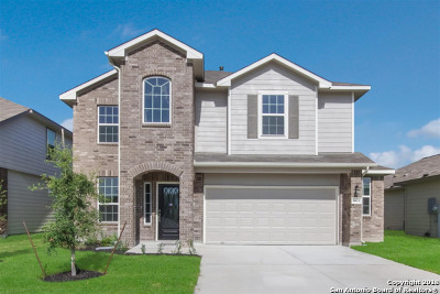 Schertz Single Family Home New: 12424 Belfort Point