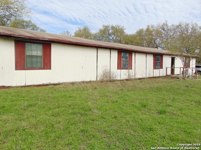 Castroville Single Family Home For Sale: 18735 County Road 5738