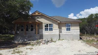 Canyon Lake Single Family Home New: 1152 Hedgestone