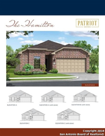 Schertz Single Family Home New: 12418 Belfort Point