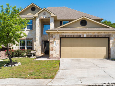 Boerne Single Family Home New: 7635 Mission Ledge