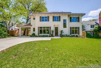 Boerne, Cibolo, Converse, Fair Oaks Ranch, Helotes, Leon Valley, New Braunfels, San Antonio, Schertz, Windcrest Single Family Home New: 516 Grandview