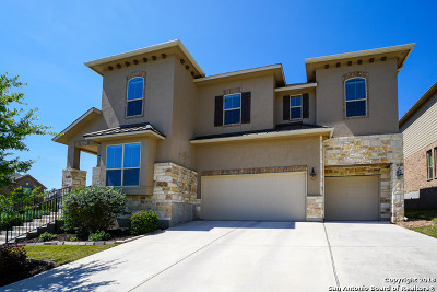 San Antonio Single Family Home Price Change: 25703 Coreopsis