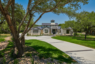 Boerne Single Family Home New: 25026 Caliza Cove