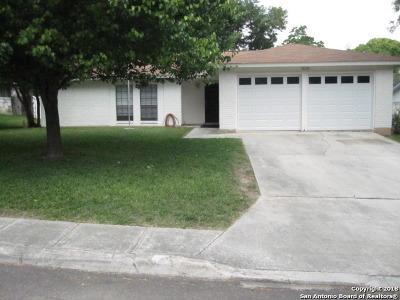 San Antonio Single Family Home Back on Market: 10235 Dugas Dr