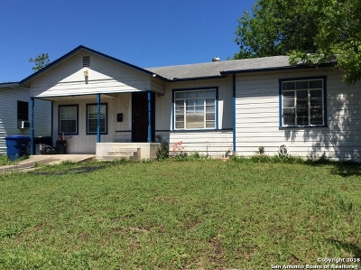 San Antonio Single Family Home Back on Market: 745 Cravens Ave