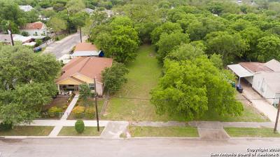 San Antonio Residential Lots & Land New: 130 Utah St