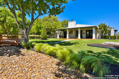 Boerne Single Family Home New: 128 Spring Hill Dr
