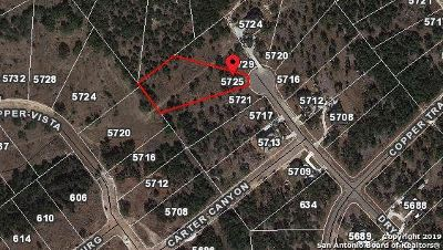 Residential Lots & Land For Sale: 5725 Dry Comal Dr