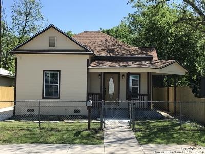 Single Family Home For Sale: 1620 Burnet St