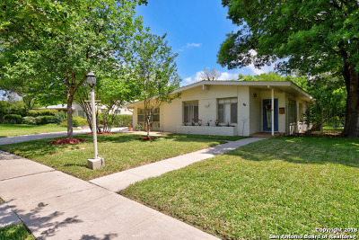 San Antonio Single Family Home New: 323 Meadowood Ln
