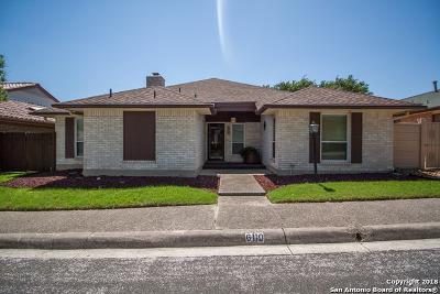 Windcrest Single Family Home New: 6110 Windy Knoll