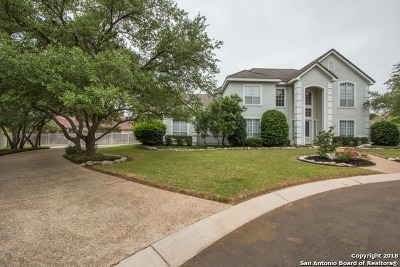 San Antonio Single Family Home New: 19107 Heather Oaks