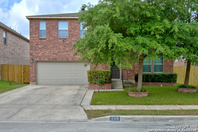 Cibolo Single Family Home New: 213 Springtree Trail