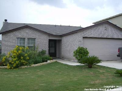 Cibolo Single Family Home New: 264 Hinge Path