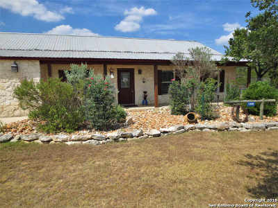 Bandera Single Family Home For Sale: 188 Wagon Trail