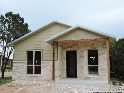 Canyon Lake Single Family Home New: 1054 Diamondhead Dr