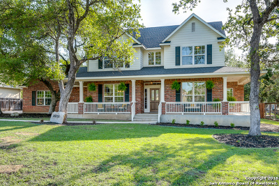 San Antonio Single Family Home New: 26206 Sunny Meadows
