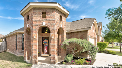 Helotes Single Family Home New: 10427 Weser Ln