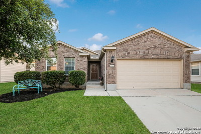 Schertz Single Family Home New: 1337 Fields Way