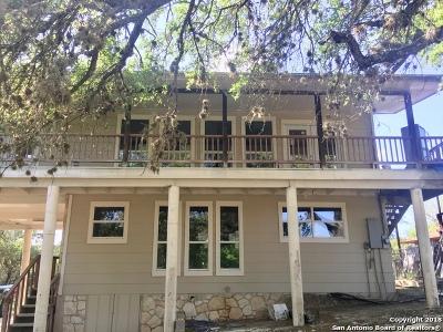 Canyon Lake Single Family Home New: 1465 Paradise Dr