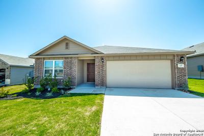 New Braunfels Single Family Home New: 137 Beretta Path