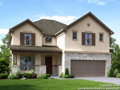 San Antonio Single Family Home New: 13863 Tribeca