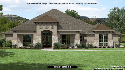 New Braunfels Single Family Home Price Change: 608 Cross Oak
