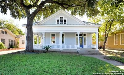 San Antonio Single Family Home Price Change: 306 Carolina St