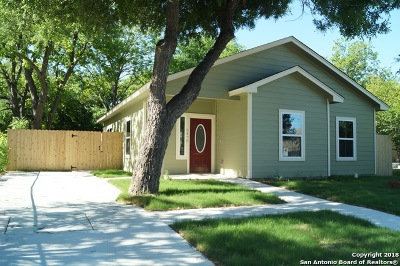 San Antonio Single Family Home New: 5478 Magnes St