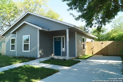San Antonio Single Family Home New: 5447 Dabney Ln