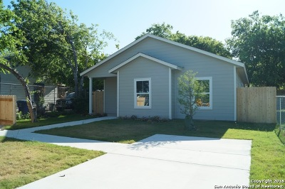 San Antonio Single Family Home New: 2142 S Callaghan Rd