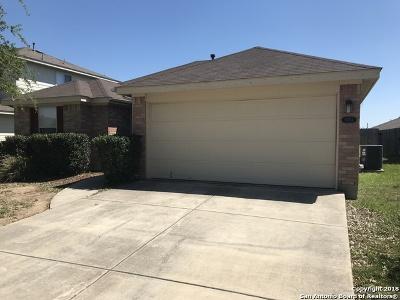 Converse Single Family Home New: 8434 Favero Cove