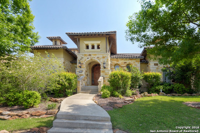 San Antonio Single Family Home Price Change: 24035 Gran Palacio