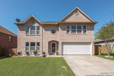 Schertz Single Family Home New: 2535 Smokey Creek