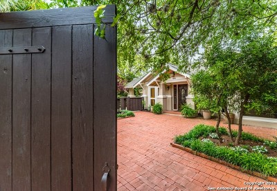 Alamo Heights Single Family Home For Sale: 868 Estes Ave