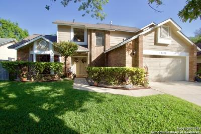San Antonio Single Family Home New: 13318 Langtry St