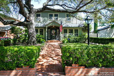 Alamo Heights Single Family Home New: 511 Argo Ave