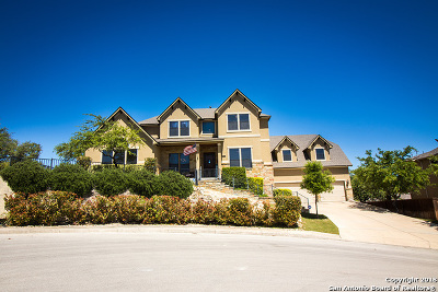 Boerne Single Family Home New: 28114 Carmel Valley