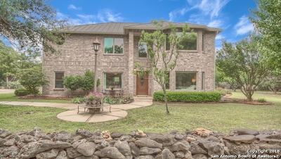 Bulverde Single Family Home New: 345 Georg Oaks