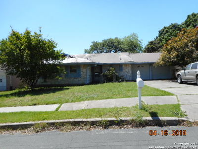 San Antonio TX Single Family Home New: $124,900