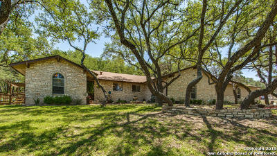 Boerne Single Family Home New: 27106 Hidden Trail
