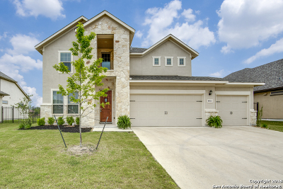 Fair Oaks Ranch Single Family Home New: 8014 Cibolo View