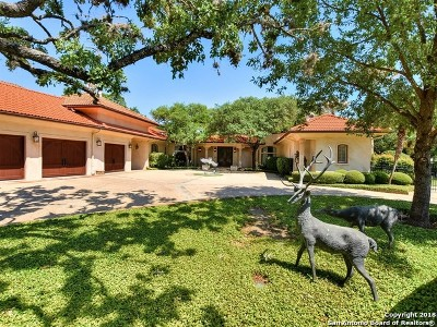 San Antonio Single Family Home New: 16 Champions Ln