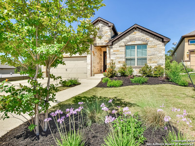 Boerne Single Family Home New: 144 Escalera Cir